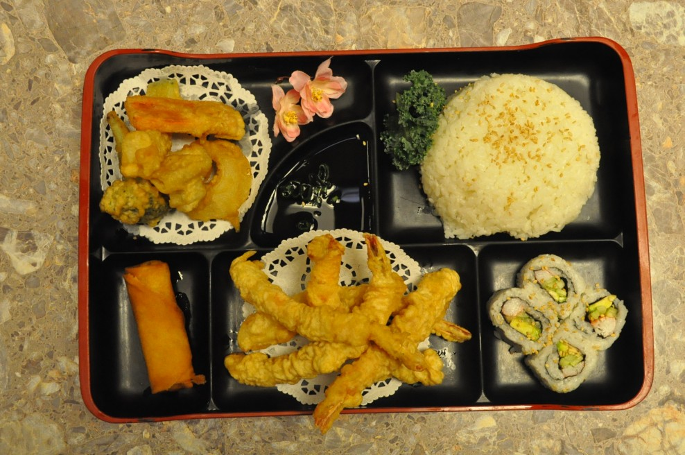 Shrimp Tempura Bento Box